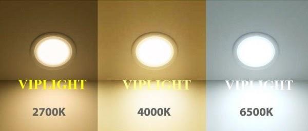 Bóng đèn LED chiếu điểm có dải màu sắc đa dạng