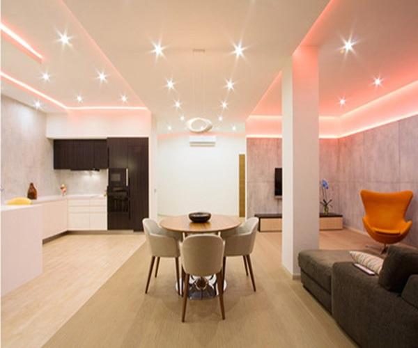 Đèn LED downlight âm trần được xem là giải pháp chiếu sáng hiệu quả