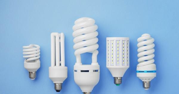 Đèn compact rất đa dạng kiểu dáng